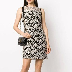 NWT Ralph Lauren Floral Embroidery Cocktail Dress